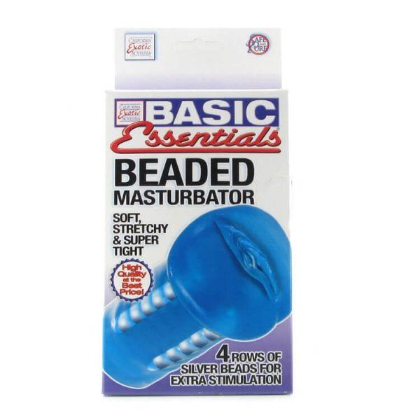 Basic Essentials Beaded Masturbator 3