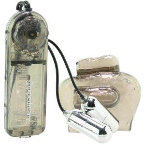 Classix Dual Vibrating Ball Teaser in Smoke 1