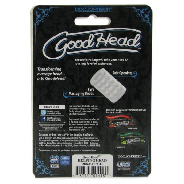 GoodHead Helping Head 6