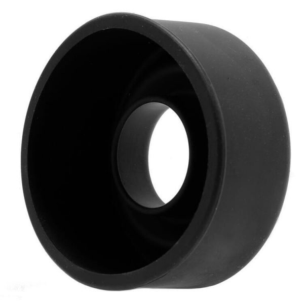 Pumped Large Silicone Pump Sleeve in Black 6