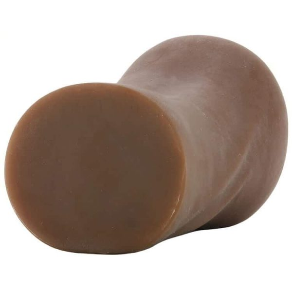 Stroke It Anatomical Mouth Stroker in Brown 5