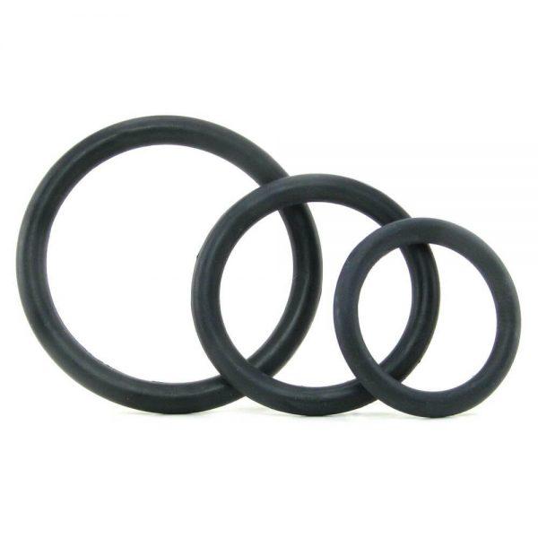 Tri-Rings Cock Ring Set